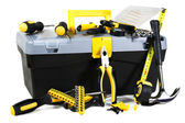 Tools and toolbox — Stock Photo