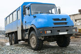 Truck Blue — Stock Photo