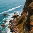 Precipitous coast. Kaliakra, Bulgaria. - Stock Photo