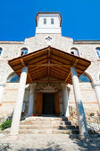 Entrance to the church. Nessebar. Bulgaria. — Stock Photo