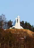 Three Crosses Monument. Vilnius. Lithuania — Stock Photo