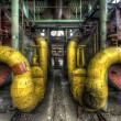 Yellow pipes — Stock Photo #9894546