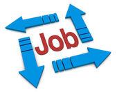 Concept d'emploi — Photo