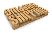 Shipping services — Stockfoto