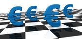 концепция евро — Стоковое фото