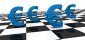 Euro-konzept — Stockfoto