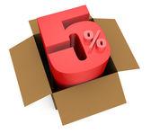 Prozent symbol — Stockfoto