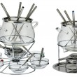 Stock Photo: Fondue set