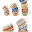 Ceramic cups — Stock Photo