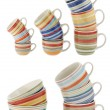 Stock Photo: Ceramic cups