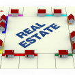 Concept of real estate — Stock Photo #8994332