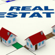 Stock Photo: Concept of real estate