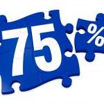 Percent icon — Stock Photo #9194236