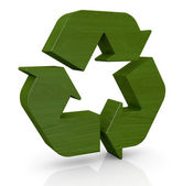Symbol of recycling — Stock Photo