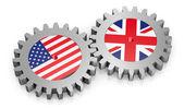 концепции международных отношений — Стоковое фото