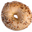 Multi-grain bagel — Stock Photo