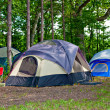 Camping Tents at Campground — Stock Photo #8137864