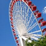 Chicago navy pier Ferris Wheel close up — Stock Photo #8137938