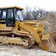 Bulldozer on construction site — Stock Photo #8138090
