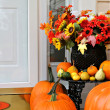Sweet home autumn decoration — Stock Photo