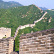 Tourist-spot at Great Wall of China - Stock Photo