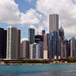 Downtown Chicago Skyline — Stock Photo