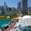 Chicago Navy Pier Aerial View — Stock Photo #8138551