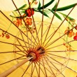 Stock Photo: Ancient decorative Chinese style umbrella