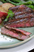 Grilled Beef Ribeye — Stock Photo