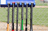 Tacos de beisebol — Fotografia Stock