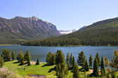 Highlite Lake at Gallatin National Forest, Bozeman, Montana, USA — Stock Photo