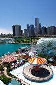 Chicago Navy Pier Summer — Stock Photo