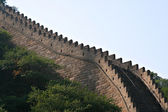 Primer plano de la gran muralla china — Foto de Stock
