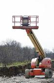 Construction bucket platform — Stock Photo