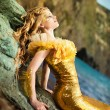 Young beautiful girl in the image of a mermaid — Stock Photo #8076078