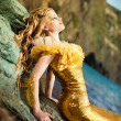 Royalty-Free Stock Photo: Young beautiful girl in the image of a mermaid