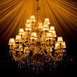 Stock Photo: Chandelier