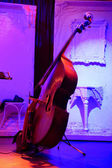 Cello on a stage — Stock Photo