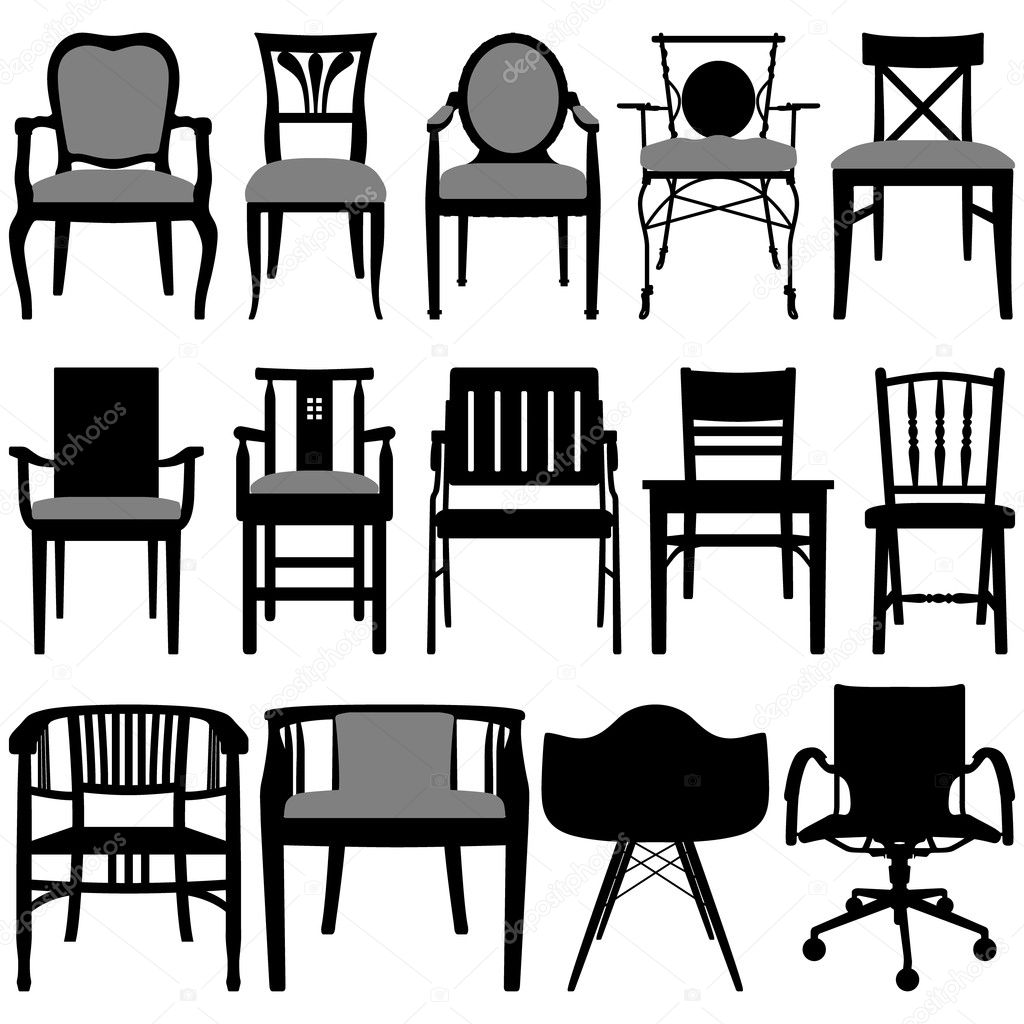 Chair Design Stock Vector Leremy 9051113