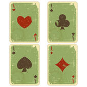 Playing cards — Stok Vektör