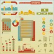 Construction icons and graphics - Imagen vectorial