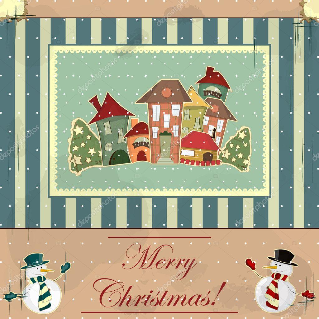 Новогодние открытки с рекламой