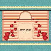 Card for Valentine — Stock Vector