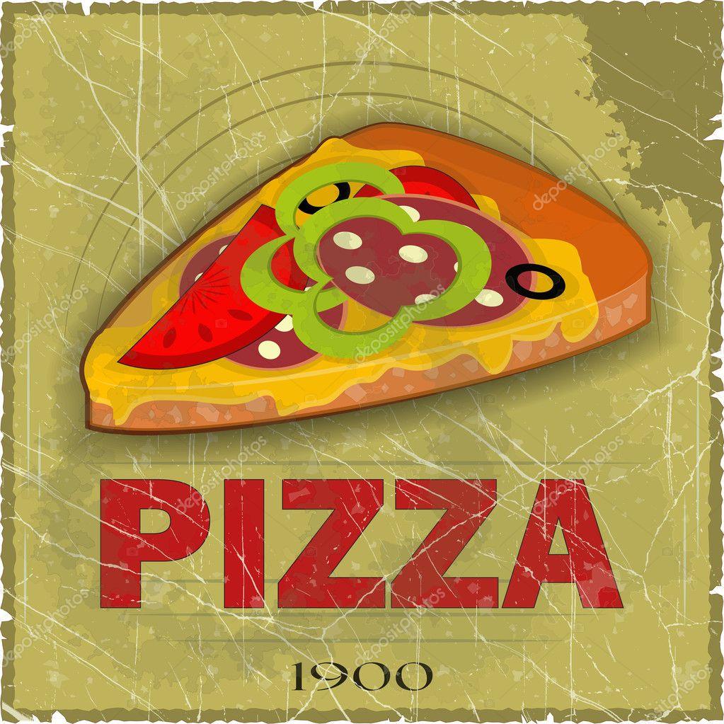 листовка пицца образец