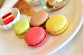 Colorful macaroons — 图库照片