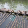 Bamboo raft — Stock Photo #10034125