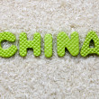 China sign — Stock Photo