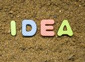 Idea title — Stock Photo