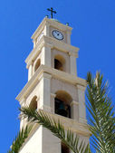 Jaffa St Peter's Church Bell tower 2012 — Stock Photo