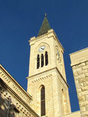 Jaffa Franciscan Church tower November 2011 — Stock Photo